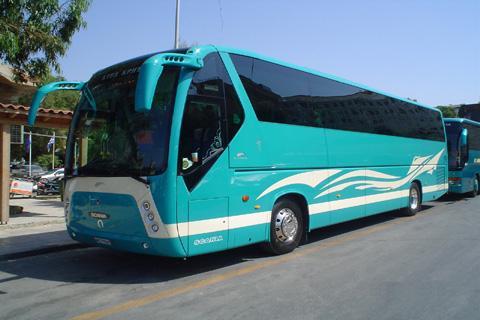 K.T.E.L. ( intercity bus ) timetables