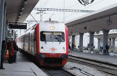 O.S.E. ( Train ) timetables